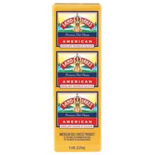 Land O Lakes American Yellow Deli Process Cheese Loaf 5 Pound