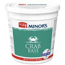 Nestle Minors No Added MSG Crab Base 1 Pound