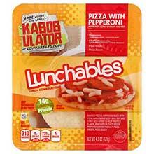 Oscar Mayer Lunchable Pepperoni Pizza 4.5 Ounce