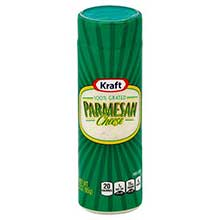 Kraft Grated Parmesan Cheese 3 Ounce