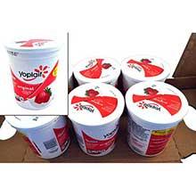 Yoplait Low Fat Creamy Strawberry Yogurt 32 Ounce