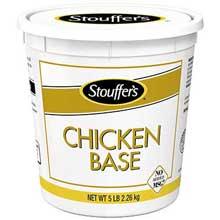 Nestle Stouffers No Added MSG Chicken Base 5 Pound