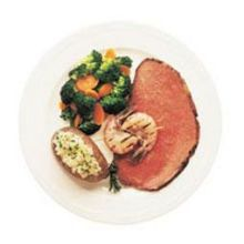 Hillshire Farms Split Choice Roast Beef 10.22 Pound