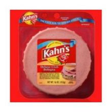 Kahns Deluxe Club 3 Meat Bologna 6.25 Pound