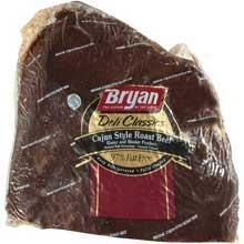 Bryan Deli Classic Cajun Roast Beef 6.5 Pound