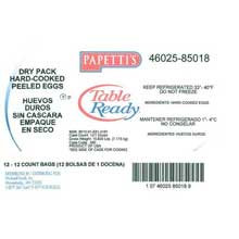 Michael Foods Papettis Table Ready Hard Cooked Egg