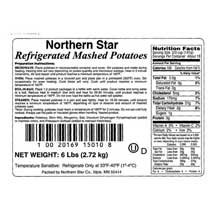 Michael Foods Northern Star Plain Mashed Potato 6 Pound