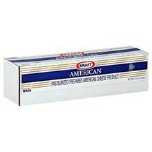 Kraft American White Cheese Loaf 80 Ounce