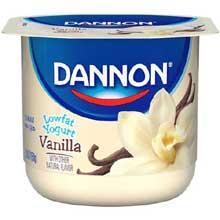 All Natural Vanilla Flavored Yogurt