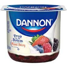 Fruit on the Bottom Mixed Berry Yogurt