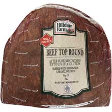 Hillshire Farms Beef Roast Deli Faced Medium Well 7 Pound