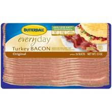 Butterball Original Everyday Turkey Bacon 12 Ounce