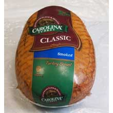 Carolina Hand Crafted Hickory Smoked Skinless Turkey Breast