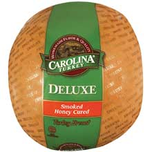 Carolina Deluxe Smoked Honey Cured Skinless Turkey Breast