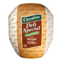 Carolina Selects Deli Special Turkey Breast and White Turkey