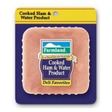 Lunch Meat Deli Favorites Cooked Ham and Water