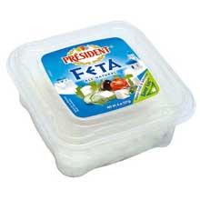 President All Natural Plain Feta Cheese Chunk