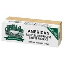 Hilldale American White Process Cheese Loaf