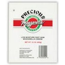 Precious Low Moisture Part Skim Mozzarella Cheese 16 Ounce