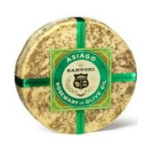 Rosemary and Olive Oil Asiago Cheese Wheel