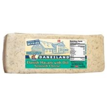 Danesland Havarti Danish Dill Cheese Loaf