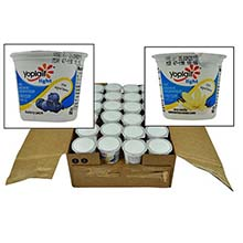Yoplait Light Blueberry Patch and Very Vanilla Yogurt Variety Pack