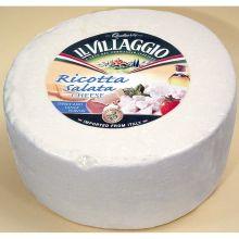 Il Villaggio Ricotta Salata Toscanella Wheel Cheese