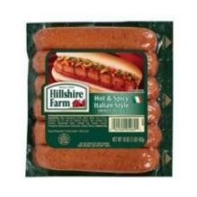 Hot and Spicy Italian Style Link Smoked Sausage