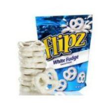 White Fudge Candy Pretzel
