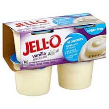 Jello Ready to Eat Sugar Free Pudding