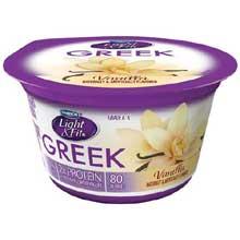 Vanilla Non Fat Yogurt