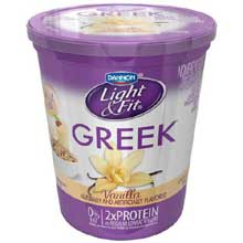Greek Vanilla Non Fat Yogurt