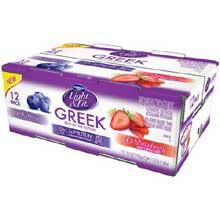 Blueberry and Strawberry Nonfat Yogurt