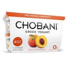 Greek Yogurt 0 Percent Peach