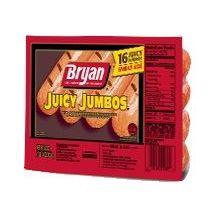 Jumbo Hot Dog Meat Franks