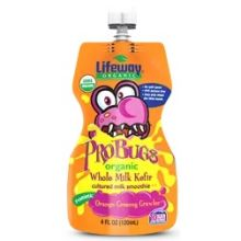Organic Orange Creamy Crawler Whole Milk Kefir