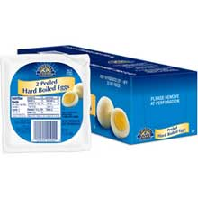 Individual Serve Hard Cooked Peeled Egg