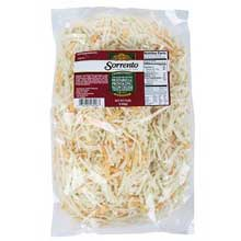 Pasteurized Mozzarella Provolone Shredded Cheese