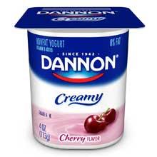 Creamy Strawberry and Vanilla Twin Pack Yogurt, 4 Ounce -- 48 per case.