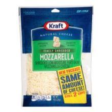 Finely Shredded Mozzarella Cheese