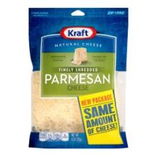 Natural Finely Shredded Parmesan Cheese