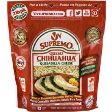 Queso Chihuahua Shredded Quesadilla Cheese 2 Pound