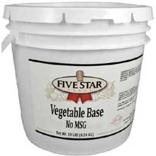 No Msg Vegetable Bases
