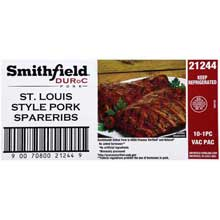 St Louis Style Pork Sparerib