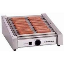 Roundup Single Thermostat Hot Dog Corral Grill 8.5 inch Height Cooks 200 refrigerated