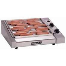 Roundup Flat Hot Dog Corral Grill 7.25 inch Height 60 Hz