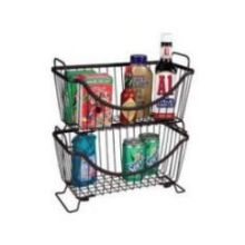 Ashley Bronze Small Stackable Basket