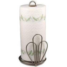 Bloom Satin Nickel Paper Towel Holder
