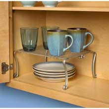 Somerset Satin Nickel PC Cabinet Shelf
