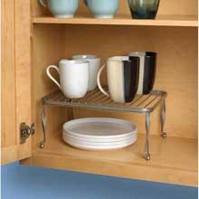Taylor Satin Nickel PC Cabinet Shelf